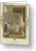 Political Acts Greeting Cards - Act Of Union, 1707 Greeting Card by Granger