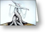 Gestures Greeting Cards - Adagio Of Life Greeting Card by Paulo Zerbato