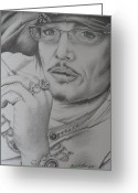 Dawn Jones Greeting Cards - Adam Ant-Still Got It Greeting Card by Dawn Jones