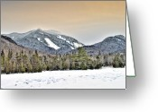 Damn Greeting Cards - Adirondack Mountains New York    HDR  Greeting Card by Brendan Reals