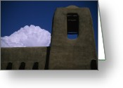 Close Views Greeting Cards - Adobe Architecture In Santa Fe, New Greeting Card by Stacy Gold