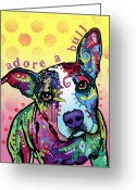 Dean Russo Greeting Cards - AdoreABull Greeting Card by Dean Russo