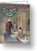 Hookah Greeting Cards - Advertisement: Whiskey Greeting Card by Granger