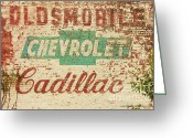 Coalfield Greeting Cards - Advertising Old Style Greeting Card by Laurinda Bowling