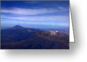Puebla Greeting Cards - Aerial view of Greeting Card by Raul Touzon
