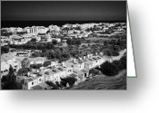 Fig Tree Greeting Cards - Aerial View Over Houses And Apartments In Fig Tree Bay Protaras Republic Of Cyprus Europe Greeting Card by Joe Fox