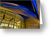 Hall Of Fame Photo Greeting Cards - Aero Push Greeting Card by Brian Tye