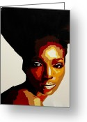 National Painting Greeting Cards - African Women in Conservation Greeting Card by Dave Sherwood-Adcock