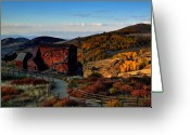 Colors Greeting Cards - After The Gold Rush Greeting Card by Tim Reaves
