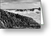 Hideaki Sakurai Greeting Cards - After the storm day at Canal Rocks - Western Australia Greeting Card by Hideaki Sakurai