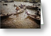 Photgraphy Greeting Cards - Afternoon on the River Greeting Card by Skip Nall