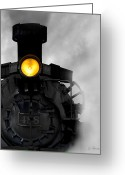 Train Greeting Cards - Age of Steam No. 2 Greeting Card by Joe Bonita
