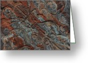 Patina Greeting Cards - Aged Beauty Greeting Card by Chris Brandley
