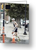 Ironman Photo Greeting Cards - Ai 4 Greeting Card by Patrick Biestman