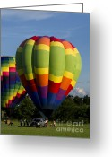 Balloon Fest Greeting Cards - Air Balloon 1504 Greeting Card by Terri Winkler