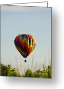 Balloon Fest Greeting Cards - Air Balloon 1512 Greeting Card by Terri Winkler
