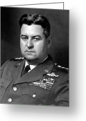 Army Air Corps Greeting Cards - Air Force General Curtis Lemay  Greeting Card by War Is Hell Store