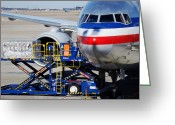 Cargo Greeting Cards - Air transportation. Greeting Card by Fernando Barozza