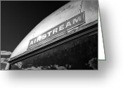 Sunlight Greeting Cards - Airstream Greeting Card by David Bowman
