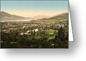 South France Greeting Cards - Aix France Greeting Card by International  Images