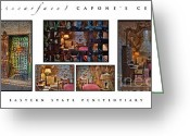 County Jail Greeting Cards - Al Scarface Capones Cell Greeting Card by Susan Candelario