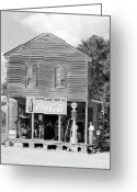 Advertisement Greeting Cards - Alabama: Post Office Greeting Card by Granger