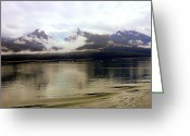 Skagway Greeting Cards - Alaska Glory Skies Greeting Card by Mindy Newman