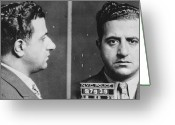 Albert Greeting Cards - Albert Anastasia (1902-1957) Greeting Card by Granger