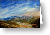Alberta Foothills Landscape Greeting Cards - Alberta Moment Greeting Card by Joanne Smoley