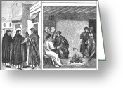 Saint Dominic Greeting Cards - Albigensians Greeting Card by Granger