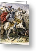 Lance Greeting Cards - Alexander The Great Greeting Card by Granger