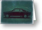 Italian Classic Cars Greeting Cards - Alfa Romeo GTV Greeting Card by Irina  March