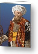 Personage Greeting Cards - Ali Bey Al-abbasi Greeting Card by Photo Researchers