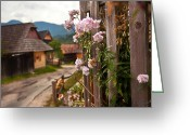 Hill Photographs Greeting Cards - all about slovakia IV. Greeting Card by Renata Vogl