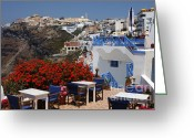 Thelightscene Greeting Cards - All About The Greek Lifestyle Greeting Card by Bob Christopher