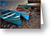 Christopher Holmes Photography Greeting Cards - All Ashore Greeting Card by Christopher Holmes