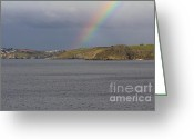Kernow Greeting Cards - All The Colours Of Greeting Card by Brian Roscorla