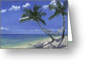 Reinhardt Greeting Cards - All the Pretty Beaches Greeting Card by Lisa Reinhardt