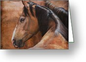 Ranch Greeting Cards - Almost Dun Greeting Card by JQ Licensing