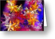 Morning Mist Images Greeting Cards - Aloha Greeting Card by Judi Bagwell