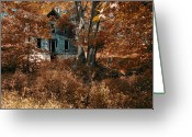 Foundations Greeting Cards - Alone Now Greeting Card by Ross Powell
