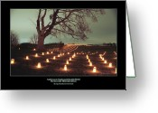 Antietam Greeting Cards - Along Smoketown Road 07 Greeting Card by Judi Quelland