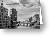 Rochester Ny Greeting Cards - Along the Genesee Greeting Card by Ken Marsh