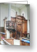 Westminster College Greeting Cards - Altar of St Mary of Aldermanbury Greeting Card by David Bearden