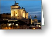 Soldier Photo Greeting Cards - Altare della Patria Greeting Card by Fabrizio Troiani