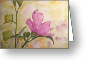 Althea Greeting Cards - Althea Greeting Card by Stella Schaefer