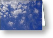 Alto Cumulus Greeting Cards - Alto Cumulus with Ice Greeting Card by Mick Anderson