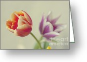 Spring-blooming Greeting Cards - Always There Greeting Card by Violet Damyan