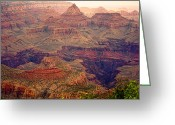 The Lightning Man Greeting Cards - Amazing Colorful Spring Grand Canyon View Greeting Card by James Bo Insogna