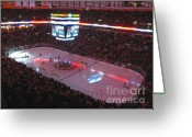 Boston Stadium Greeting Cards - America the Beautiful Greeting Card by Juergen Roth